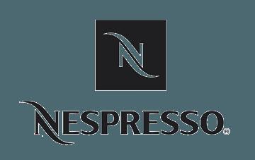 Logo client Nespresso avec production musicale et son
