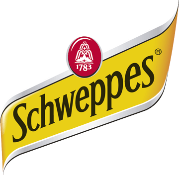Logo client Schweppes avec production musicale et son